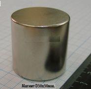 Магнит 30х30 неодимовый N35